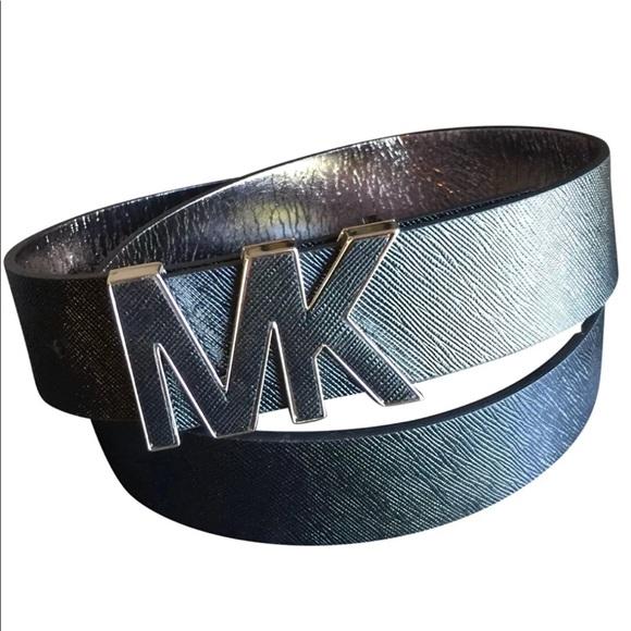 cb9ea567ab58 Michael Kors Women s Saffiano Leather Belt Medium